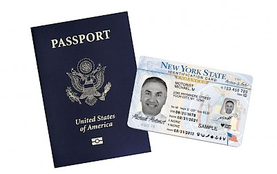 US Passport and NYS Enhanced License