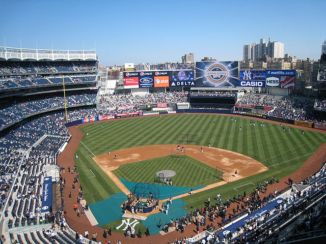Yankee Stadium. Photo: Lawrence Fung / Flickr
