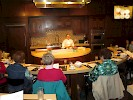 Cooking demonstration at the New York Wine & Culinary Center, Canandaigua