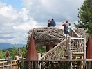 The Eagle Nest, part of Wild Walk at The Wild Center in Tupper Lake, NY  June 2016