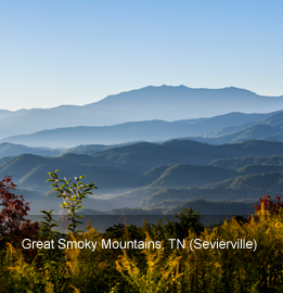 Photo of the Great Smoky Mountains, Tennessee